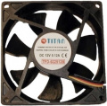 Titan Fan TFD-9225M12B, 92x92x25mm