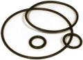 Gasket for filter with ball valves