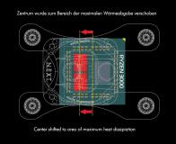 Umrüstsatz Sockel AM4/3000/5000 für cuplex kryos NEXT Acrylglas-Version
