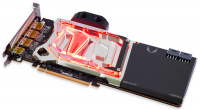 kryographics for Radeon RX Vega 64/Vega 56 acrylic glass edition, nickel plated version