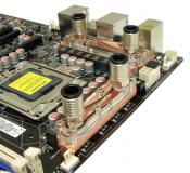 Spannungswandler-Kühler für ASUS-Mainboards (Rampage II kleinerer Kühler) Kupfer-Edition