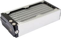 airplex modularity system 240 mm, Alu-Lamellen, ein Kreislauf, Edelstahl-Seitenteile
