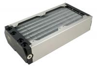 airplex modularity system 240 mm, Alu-Lamellen, zwei Kreisläufe, Edelstahl-Seitenteile