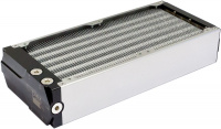 airplex modularity system 280 mm, aluminum fins, one circuit, stainless steel side panels