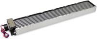 airplex modularity system 840 mm, Alu-Lamellen, D5 Pumpe, Edelstahl-Seitenteile