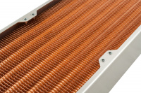 airplex modularity system 420 mm, copper fins, one circuit, stainless steel side panels