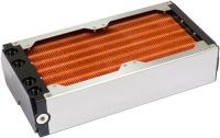 airplex modularity system 240 mm, Kupfer-Lamellen, zwei Kreisläufe, Edelstahl-Seitenteile
