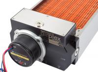 airplex modularity system 280 mm, Kupfer-Lamellen, D5 Pumpe, Edelstahl-Seitenteile