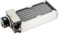 airplex modularity system 240 mm, Alu-Lamellen, D5 NEXT Pumpe, Edelstahl-Seitenteile