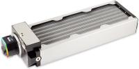 airplex modularity system 360 mm, aluminum fins, D5 NEXT pump, stainless steel side panels
