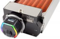 airplex modularity system 420 mm, Kupfer-Lamellen, D5 NEXT Pumpe, Edelstahl-Seitenteile