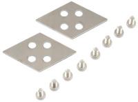 Satz Verbindungsbleche Vierfachkonfiguration für airplex modularity system