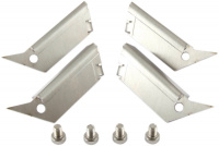 Satz Standfüße für airplex modularity system, flach liegend/breite Standfläche