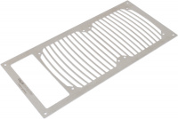 Mounting plate for airplex modularity system 240 with opening for reservoir, brushed stainless steel