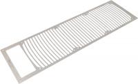 Einbaublende für airplex modularity system 360 mit Ausschnitt f. Ausgleichsbeh., Edelstahl gebürstet