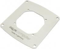 Einbaublende für Filter mit Edelstahlgewebe, 80 mm Lüfteröffnung