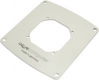 Bezel for filter with stainless steel mesh, 92 mm fan mounting