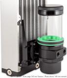 Lüfterhalterung 120 mm für ULTITUBE D5 Ausgleichsbehälter