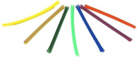 UV-aktiver Geflechtschlauch (Sleeve) 3-11 mm, blau