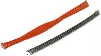 farbiger Geflechtschlauch (Sleeve) 3-11 mm, carbon