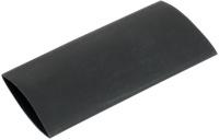 Schrumpfschlauch 2:1, 4,8 mm, schwarz (Zuschnitt 0,5m)