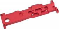 Passive heat sink for aquaero 6, red