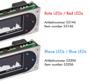 aquaero 6 XT blue USB Fan-Controller, Grafik-LCD, Touch-Bedienung, IR-Fernbedienung