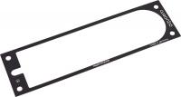 Frontblende für aquaero 5 und 6 XT (53125, 53146 und 53206) Aluminium schwarz