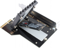 kryoM.2 PCIe 3.0/4.0 x4 adapter for M.2 NGFF PCIe SSD, M-Key with passive heatsink