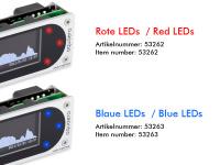aquaero 6 XT silver/blue USB Fan-Controller, Grafik-LCD, Touch-Bedienung, IR-Fernbedienung