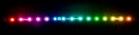 RGBpx LED-Strip 32 cm, Breite 10 mm, 15 adressierbare LEDs