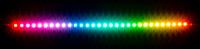 RGBpx LED-Strip 27,3 cm, Breite 5 mm, 30 adressierbare LEDs