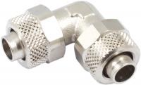 Winkelverbinder mit Überwurfmuttern 11/8 mm