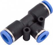 T-Reduzierverbinder plug&cool auf Stecksystem 6 mm