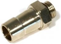 Schlauchtülle 10 mm G1/8 mit O-Ring-Dichtung