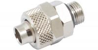 Schlauchverschraubung 10/8 mm G 1/8 mit O-Ring