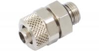 Schlauchverschraubung 8/6 mm G 1/8 mit O-Ring