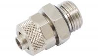 Schlauchverschraubung 8/6 mm G 1/4 mit O-Ring