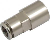 Anschluss plug&cool gerade G 1/4 Innengewinde, Metall-Lösering
