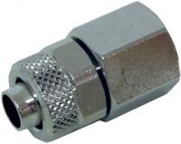 Schlauchverschraubung 8/6 mm G 1/4 Innengewinde