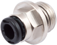 Push-in connector for 6 mm hoses, G 1/4 thread
