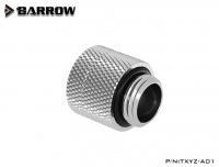 Barrow Anti-Twist Verlängerung, drehbar, Innen-/Außengewinde G1/4, silber