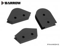 Barrow Biegeschablonen 45°/90°/180° für 16 mm Hardtubes