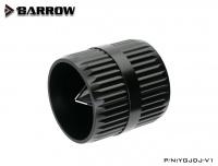 Barrow Rohrentgrater für Hardtubes, schwarz