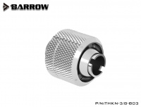 Barrow Schlauchverschraubung 16/10 mm G1/4, silber