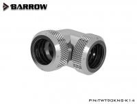 Barrow  90° Multi-Link Winkelverbinder für 14 mm Hardtubes, silber