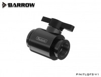 Barrow Mini-Kugelhahn G1/4, schwarz