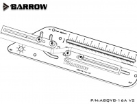 Barrow Biegewerkzeug für Hardtubes, schwarz