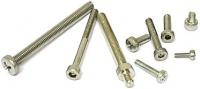 Schraube M3 x 8 mm, flacher Zylinderkopf, Innensechskant, A2