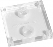 Acrylglasdeckel twinplex C, G1/8